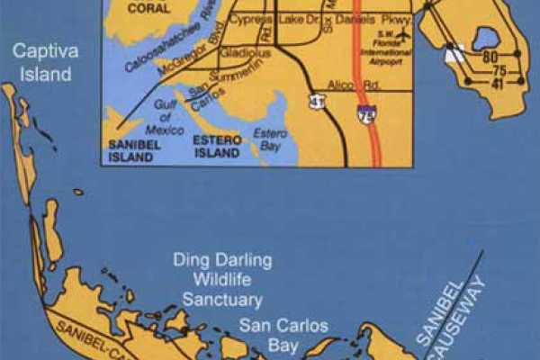 Sanibel Map Big
