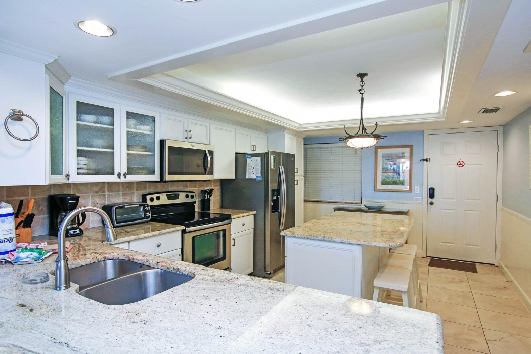Our kitchen - designed for gourmet chefs with all tools and appliances