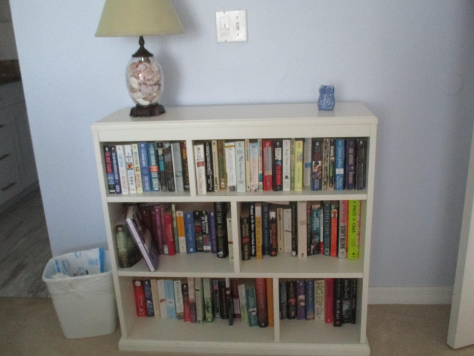 Master bedroom -- Take a book, leave a book