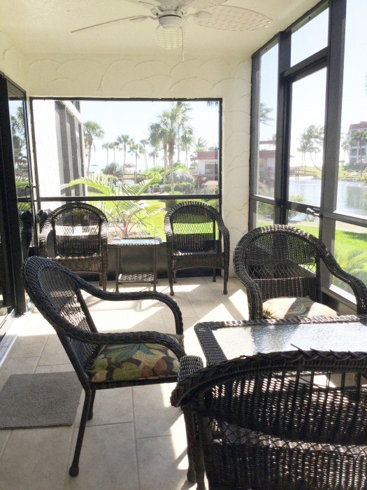 Spend quiet, relaxing time on the lanai.
