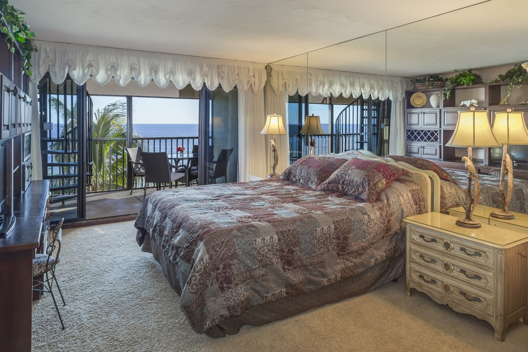 Sleep easy with the tranquil sounds of ocean waves from the master suite.