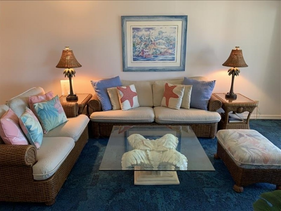 Living area for family and friends