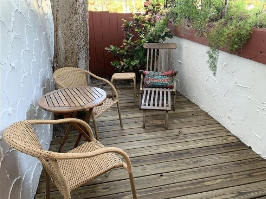 Patio off of the kitchen