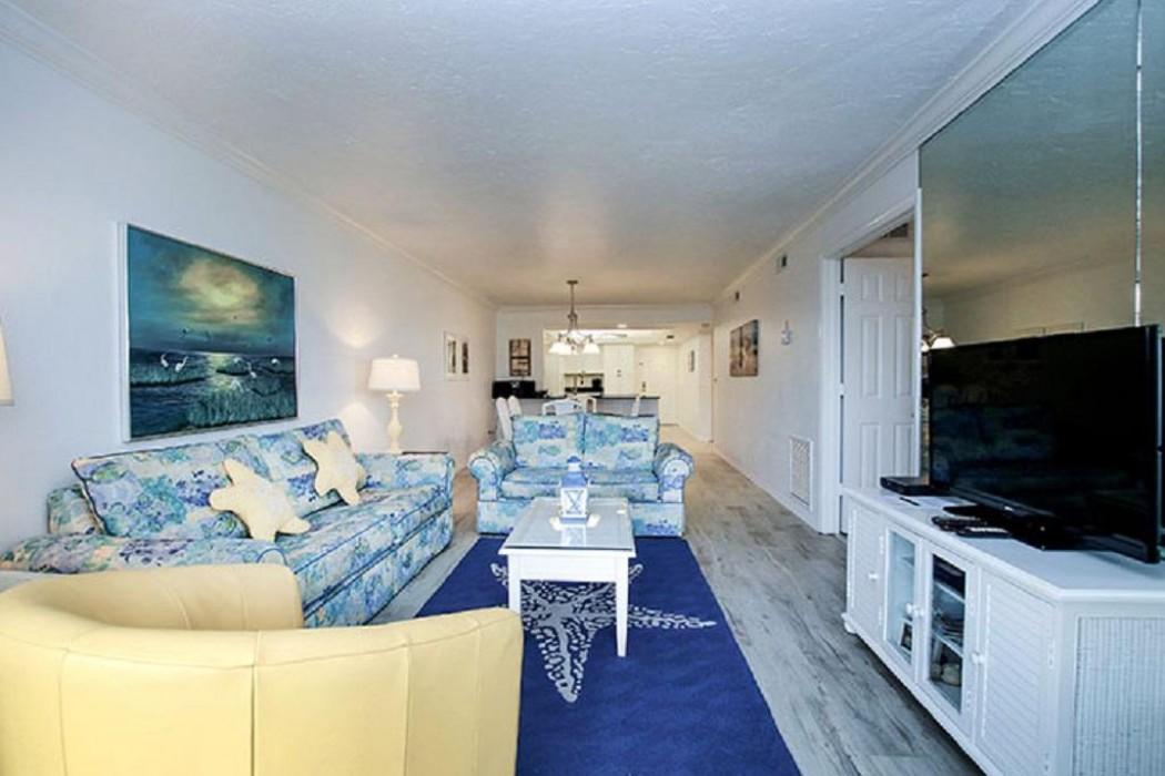Living room - queen size sleep sofa