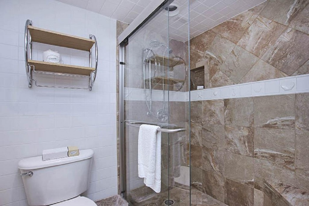 Master bathroom - walk in shower