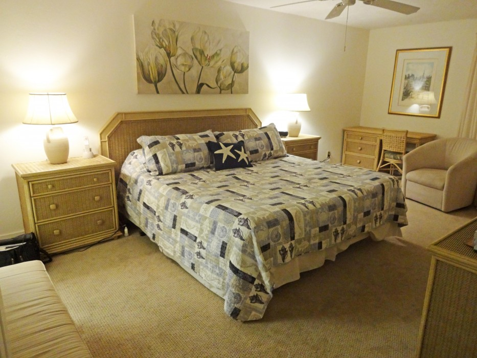 Master suite with ocean view and breezes!