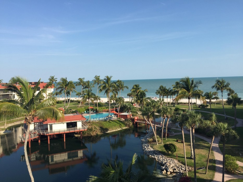 Beautiful sundeck view of pool, beach and Gulf