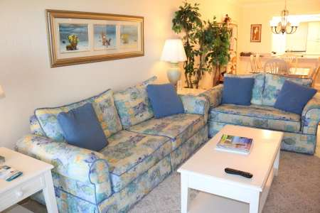 Sanibel condo rentals pse7 living area 2