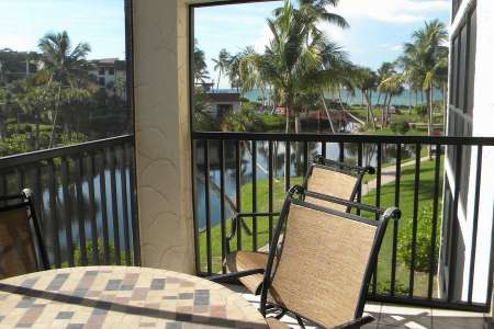 Sanibel condo rental psb21 lanai view